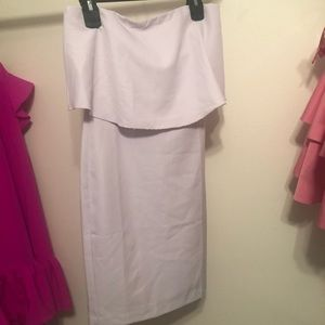 Light Lavender - Socialite Flounce Dress - XS